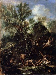 The Temptation of Saint Anthony, C1706-C1707 by Sebastiano Ricci