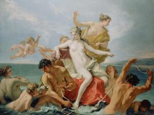 Triumph of the Marine Venus, c.1713 by Sebastiano Ricci