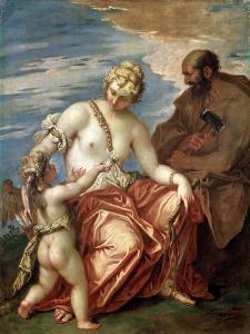 Venus, Vulcan and Cupid, 1700S by Sebastiano Ricci