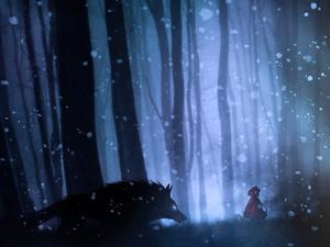 Little Red Riding Hood by Sebastien Del Grosso