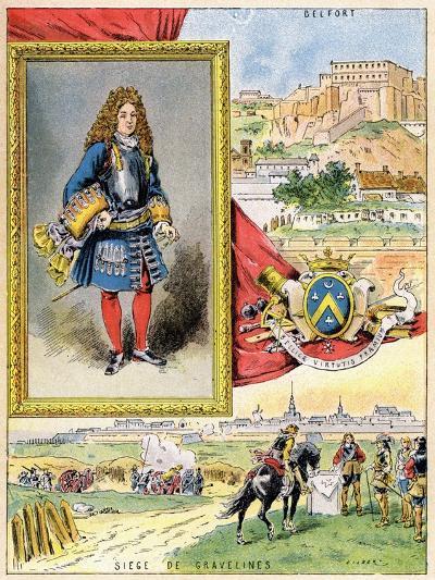 Sébastien Le Prestre De Vauban, French Military Engineer, 1898--Giclee Print