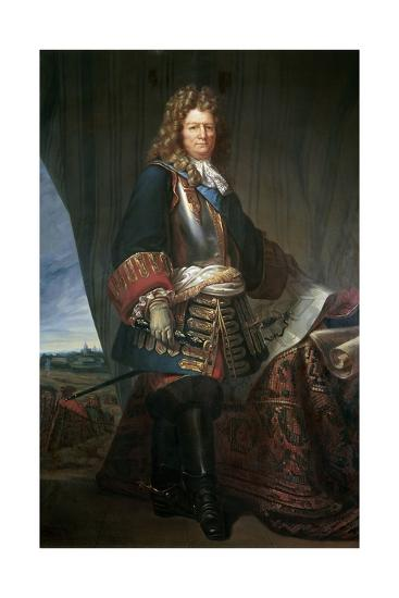 Sebastien Le Prestre De Vauban, Marshall of France. Ca. 1670--Giclee Print