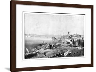 Sebastopol from the Rear of Fort Nicholas, 1900-William Simpson-Framed Giclee Print