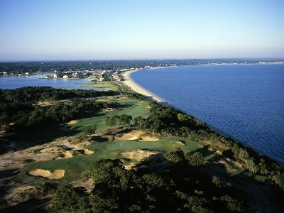 Sebonack Golf Club, Hole 17-Stephen Szurlej-Premium Photographic Print