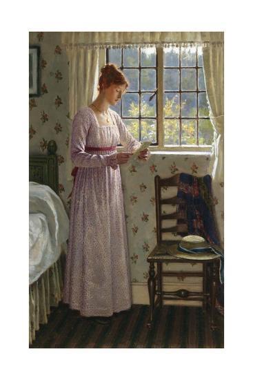 Seclusion-Edmund Blair Leighton-Giclee Print