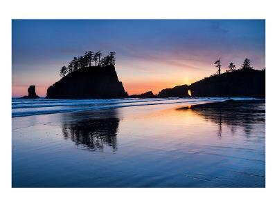 Second Beach at Olympic National Park, Washington, USA--Art Print