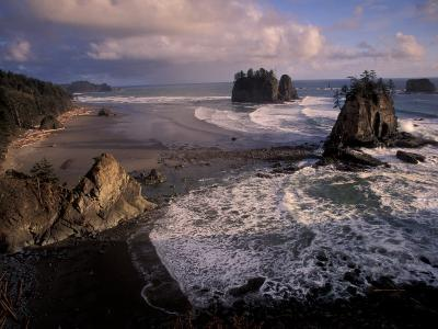 Second Beach, Olympic National Park, Washington, USA-Art Wolfe-Photographic Print