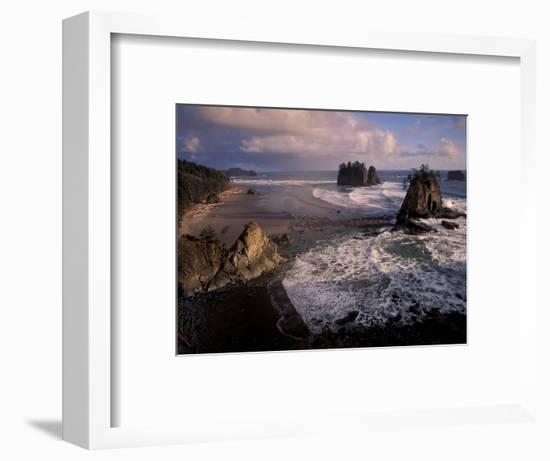 Second Beach, Olympic National Park, Washington, USA-Art Wolfe-Framed Photographic Print