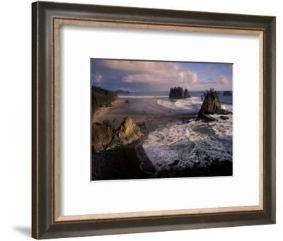 Second Beach, Olympic National Park, Washington, USA-Art Wolfe-Framed Photographic Print