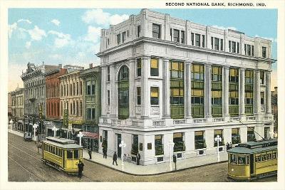 Second National Bank, Richmond--Art Print