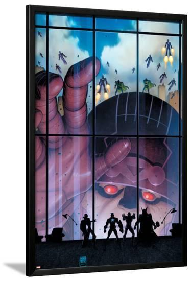 Secret Avengers #35 Cover: Sentinel-Arthur Adams-Lamina Framed Poster