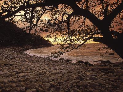 Secret Beach, Puerta Vallarta, Mexico-Walter Bibikow-Photographic Print