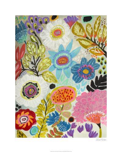 Secret Garden Floral I-Karen  Fields-Limited Edition