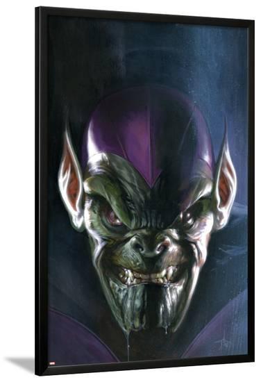 Secret Invasion No.5 Cover: Marvel Universe Family-Leinil Francis Yu-Lamina Framed Poster