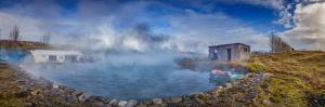 Secret Lagoon- Natural Hot Springs, Fludir, Iceland