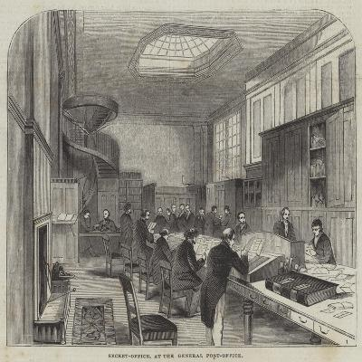 Secret-Office, at the General Post-Office--Giclee Print