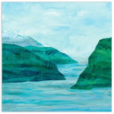 Secret Places 1 - Free Floating Tempered Glass Wall Art