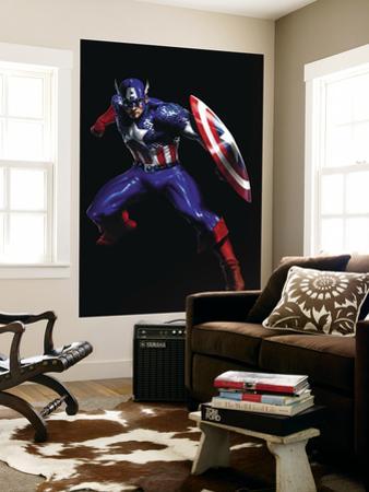 Secret War No.3 Cover: Captain America