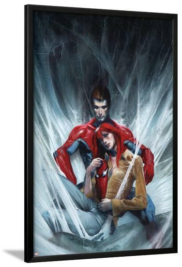 Secret War No.4: Spider-Man, Peter Parker, and Mary Jane Watson--Lamina Framed Poster