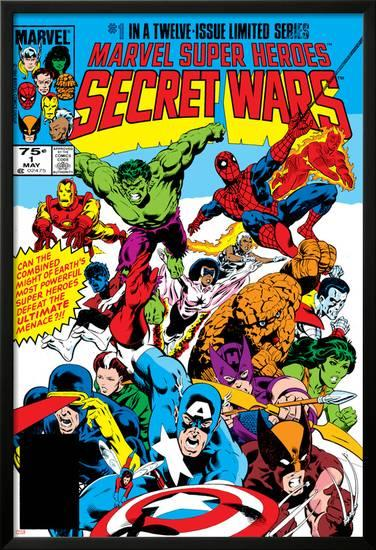 Image result for secret wars cover