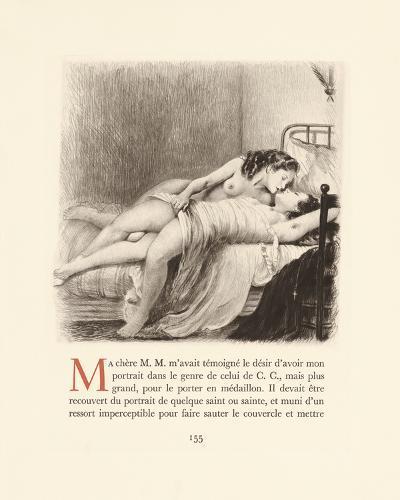 Secret Whispers-Gabriel Ferrier-Premium Giclee Print