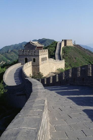 Section of Great Wall at Badaling--Giclee Print