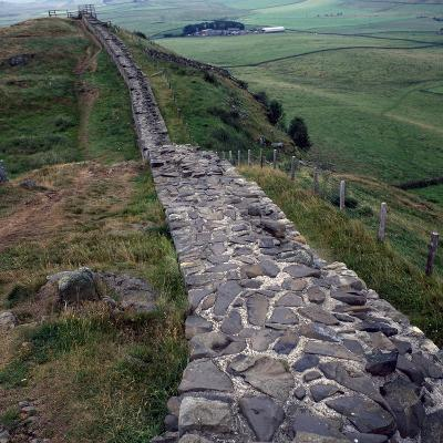 Section of Hadrian's Wall--Photographic Print