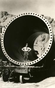 Section of Pipe, Boulder Dam, Nevada