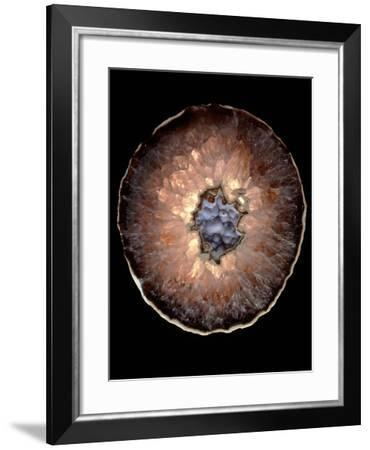 Section of Quartz Crystal Geode-Kaj Svensson-Framed Photographic Print