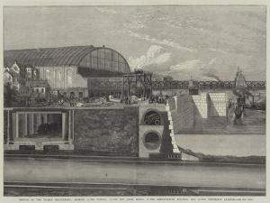 Section of the Thames Embankment
