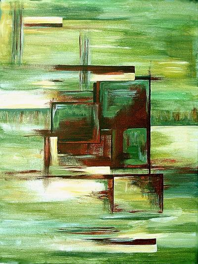 Sections-Ruthie Digital Abstract-Art Print