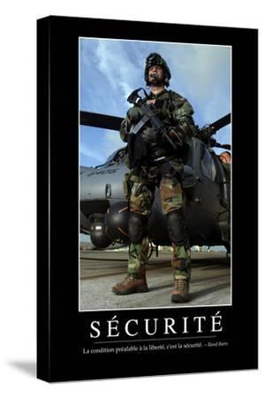 Sécurité: Citation Et Affiche D'Inspiration Et Motivation
