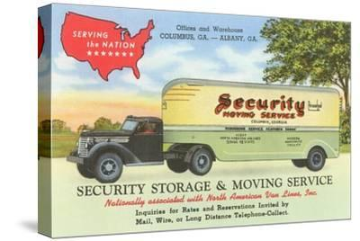 Security Moving and Storage Advertisement