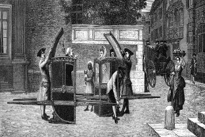 Sedan Chairs, 18th Century (1882-188)- Smeeton and Tilly-Giclee Print