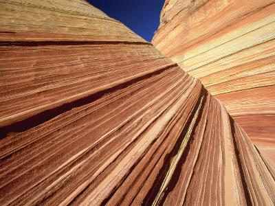 Sedimentary Pattern on Rock USA-Theo Allofs-Photographic Print