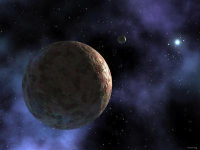 Sedna, the Newly Discovered Planet-Like Object, is Shown at the Outer Edges of the Solar System-Stocktrek Images-Photographic Print
