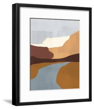 Sedona Colorblock IV-Victoria Borges-Framed Art Print
