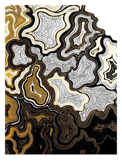 Sedona In Gold-Khristian Howell-Art Print