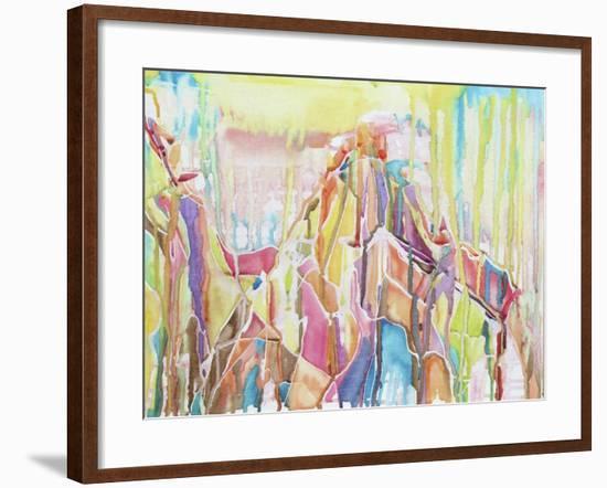 Sedona-Lauren Moss-Framed Giclee Print