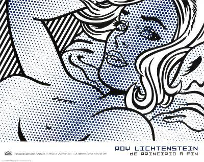 Seductive Girl-Roy Lichtenstein-Art Print