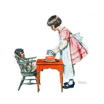 ?See How Easy It Is?-Norman Rockwell-Giclee Print