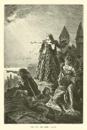 """""""See, See,"""" She Cried--Giclee Print"""
