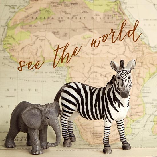 See The World-Susannah Tucker-Art Print