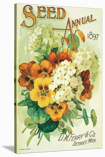 Seed Annual 1897, D.M. Ferry & Co., Detroit, Michigan--Stretched Canvas Print