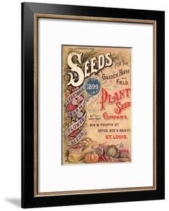 Seed Catalog Captions (2012): Plant Seed Company, St. Louis, Missouri