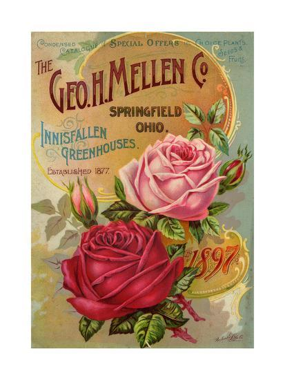 Seed Catalogues: The Geo. H. Mellen Co. Condensed Catalogue of Special Offers--Art Print
