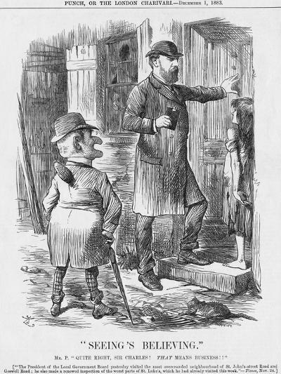 Seeing's Believing, 1883-Joseph Swain-Giclee Print