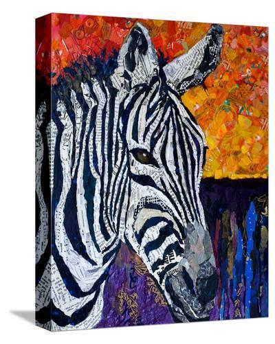 Seeing Stripes Retouched--Stretched Canvas Print