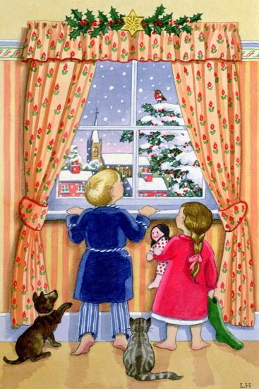 Seeing the Snow-Lavinia Hamer-Giclee Print