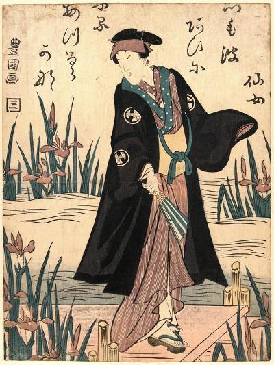 Segawa Kikunojo-Utagawa Toyokuni-Giclee Print